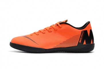Homme NIke Mercurial Vapor XII TF Noir/Orange