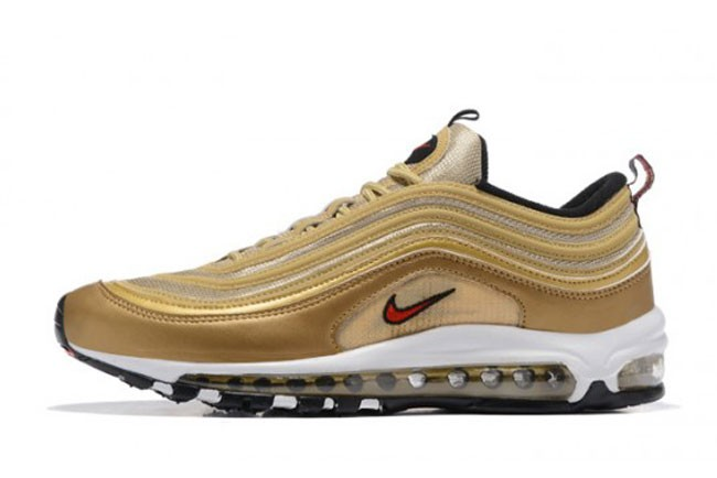 nike air max 97 homme or