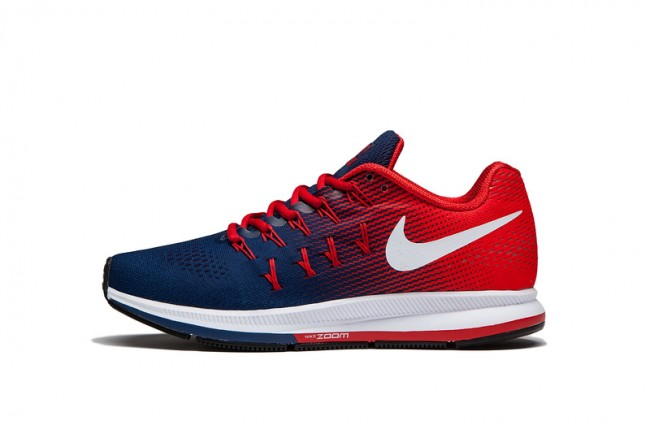 nike zoom homme rouge