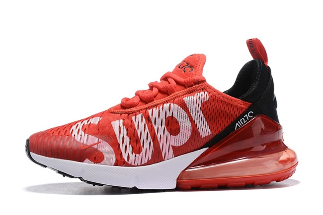 huge discount 871d4 73db9 FemmeHomme Nike Air Max 270 Superme NoirRouge