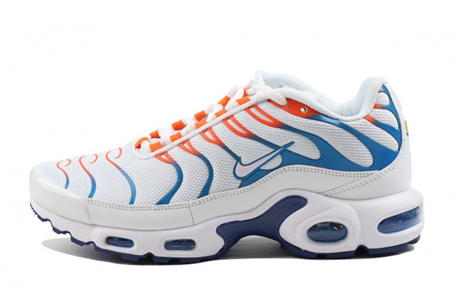 nike tn homme orange bleu