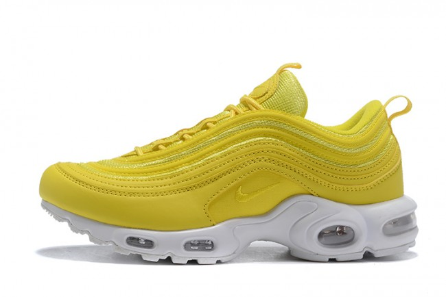 Homme Nike Air Max 97 Plus Jaune