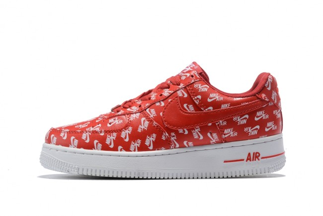 nike air force 1 homme rouge blanc