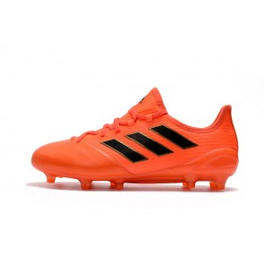 Homme Adidas ACE 17.1 Leather FG Rouge