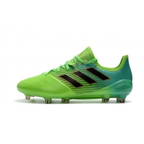 Homme Adidas ACE 17.1 Leather FG Vert
