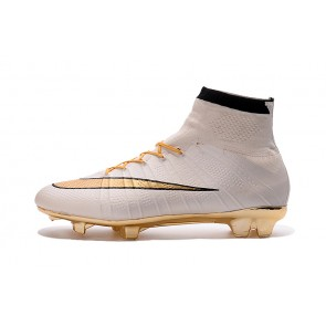 Homme NIke Mercurial Superfly Or/Blanc