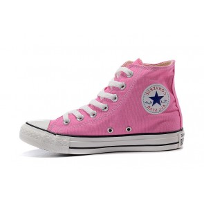 Femme Baskets Montantes Converse Chuck Taylor All Star Rose