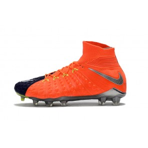 Homme Nike ypervenom Phantom III DF FG Orange