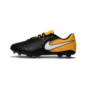 Homme Nike Tiempo Legend VII FG Noir/Orange