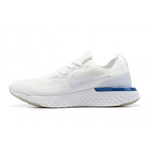 Women/Men Nike Epic React Flyknit Blanc