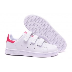 Femme Originals Stan Smith Shoes Blanc/Rouge