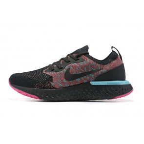 Women/Men Nike Epic React Flyknit Noir/Rouge