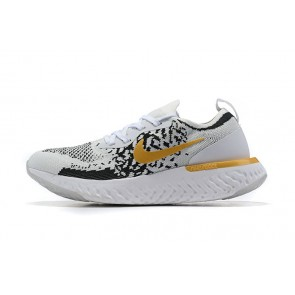 Women/Men Nike Epic React Flyknit Noir/Gris