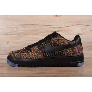 Femme/Homme Nike Air Force 1 Jaune/Orange/Noir