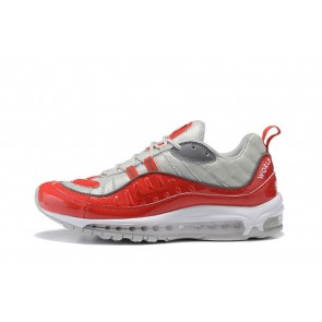 Homme Nike Air Max 98 Vrgent/Rouge/Blanc