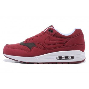 Homme Nike Air Max 1  Rouge