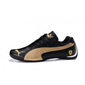 Homme Puma Future Cat Leather SF Noir/Jaune