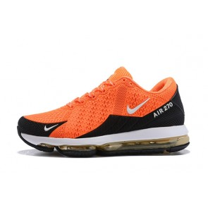 Homme Nike Air Max 270 Orange/Noir