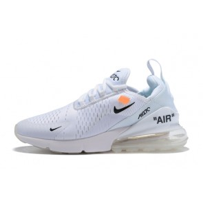 Homme OFF-WHITE x Nike Air Max 270 Blanc
