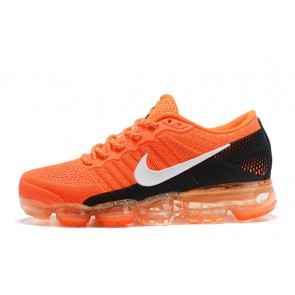 Homme Nike Air Vapormax Flyknit Orange/Noir