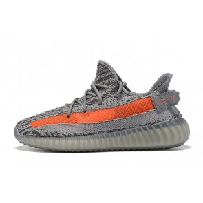 Homme Adidas Yeezy Boost 350 V2 Gris/Orange
