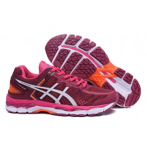 Femme Asics Gel-Kayano 22 Rouge/Orange