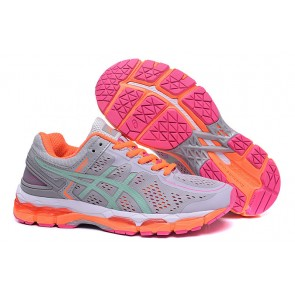 Femme Asics Gel-Kayano 22 Gris/Orange