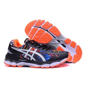 Homme Asics Gel-Kayano 22 Noir/Orange