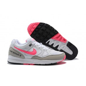 Homme Nike Air Span II Blanc/Rose