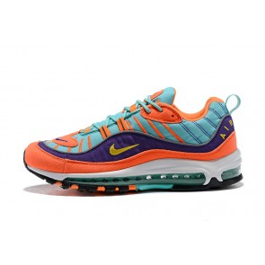 Femme/Homme Nike Air Max 98 Bleu/Orange