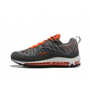 Homme Nike Air Max 98 Gris/Orange