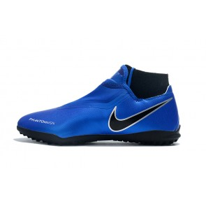 Homme Nike Phantom Vision Elite DF TF Bleu