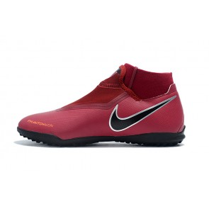 Homme Nike Phantom Vision Elite DF TF Rouge