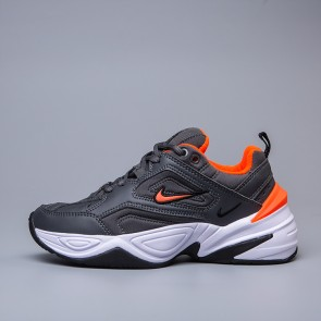 Homme Nike M2K Tekno Noir/Orange
