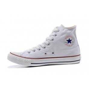 Femme/Homme Baskets Montantes Converse Chuck Taylor All Star Blanc