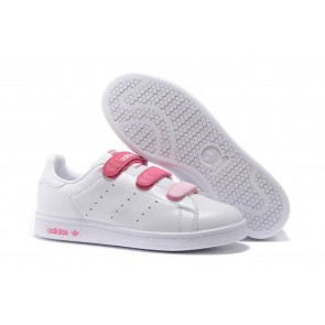 Homme Originals Stan Smith Shoes Blanc/Rose