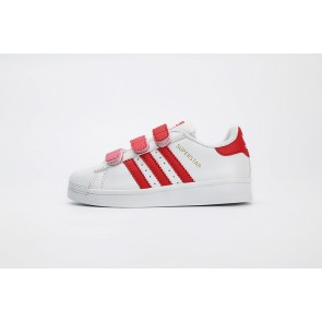 Enfant Adidas Originals Superstar Rouge