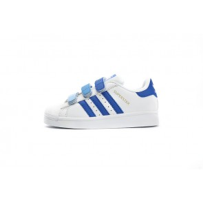 Enfant Adidas Originals Superstar  Bleu