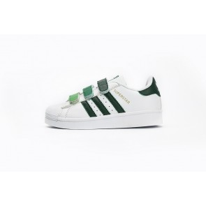 Enfant Adidas Originals Superstar  Vert