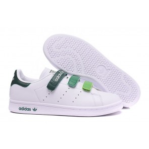 Femme Originals Stan Smith Shoes Blanc/Vert