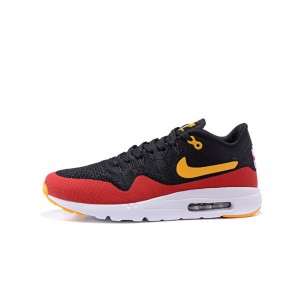 Homme Nike Air Max 1 Ultra Flyknit Noir/Rouge