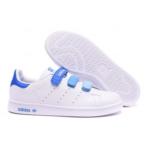 Femme Originals Stan Smith Shoes Blanc/Bleu