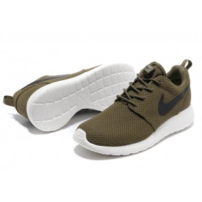 Homme Nike Roshe Run London Olympiques Châtaine/Blanc