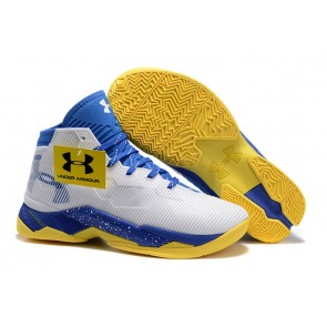 Under Armour UA Curry Two Blanc/Bleu/Jaune