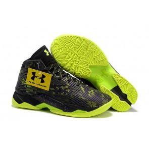 Under Armour UA Curry Two Noir/Vert