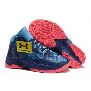 Under Armour UA Curry Two  Bleu/Rouge