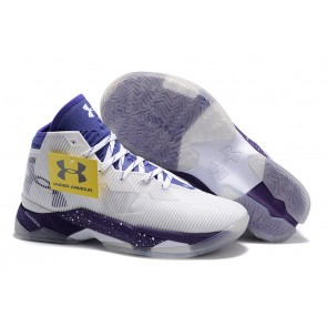 Under Armour UA Curry Two Blanc/Violet