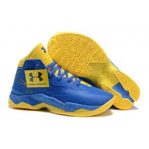 Under Armour UA Curry Two Bleu/Jaune