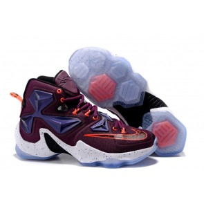 Homme Nike Lebron James 13 Rouge/Violet