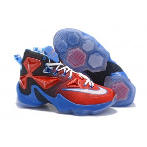 Homme Nike Lebron James 13 Rouge/Bleu